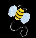Biene rechts
