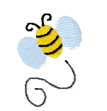 Biene links