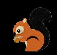 Eichhörnchen links