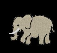 Elefant gross links