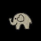 Elefant klein links