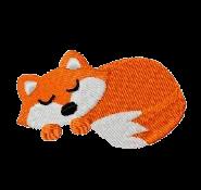 Fuchs schlafend links