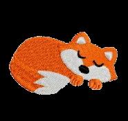Fuchs schlafend rechts