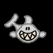 Hai grinsend rechts