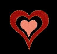 Herz doppelt