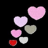 Herzchen seitlich links