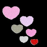 Herzchen seitlich rechts
