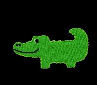 Krokodil links