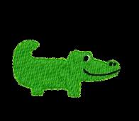 Krokodil rechts