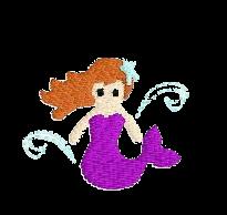Meerjungfrau links