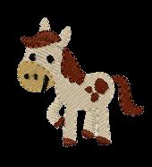 Pferd links