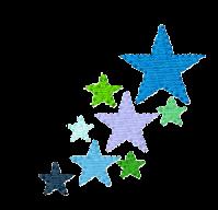 Sterne seitlich links