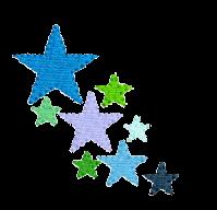 Sterne seitlich rechts