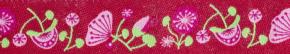 Webband Blossom pinkrot