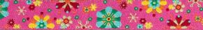 Webband Mandalablumen pink