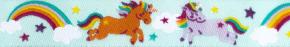 Webband Rainbow Unicorn mint