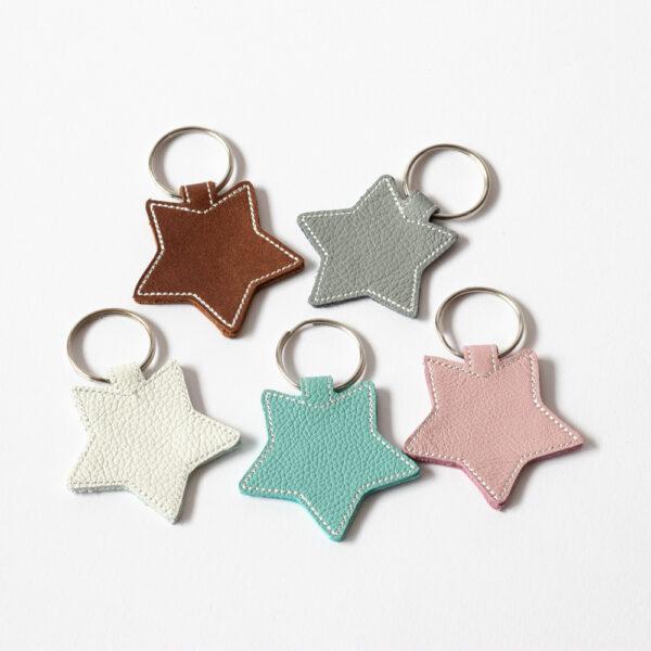 Schlüsselanhänger Sterne
