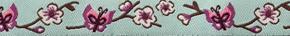 Webband Schmetterling mint